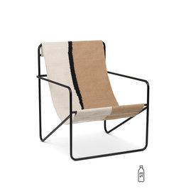 FERM LIVING FERM LIVING Desert Lounge Chair Black/Soil