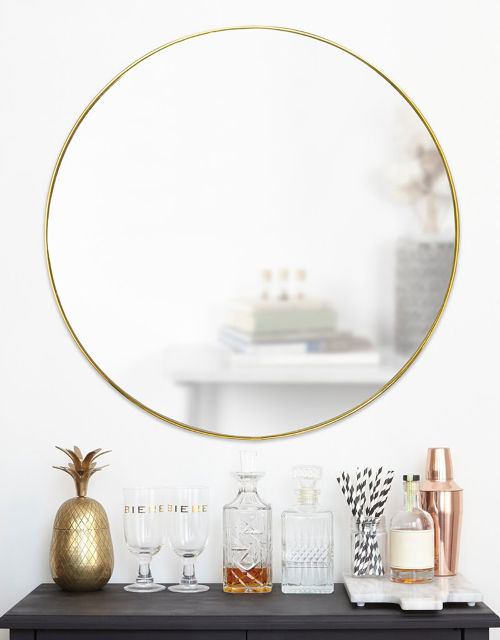 UMBRA UMBRA Hubba Mirror Gold