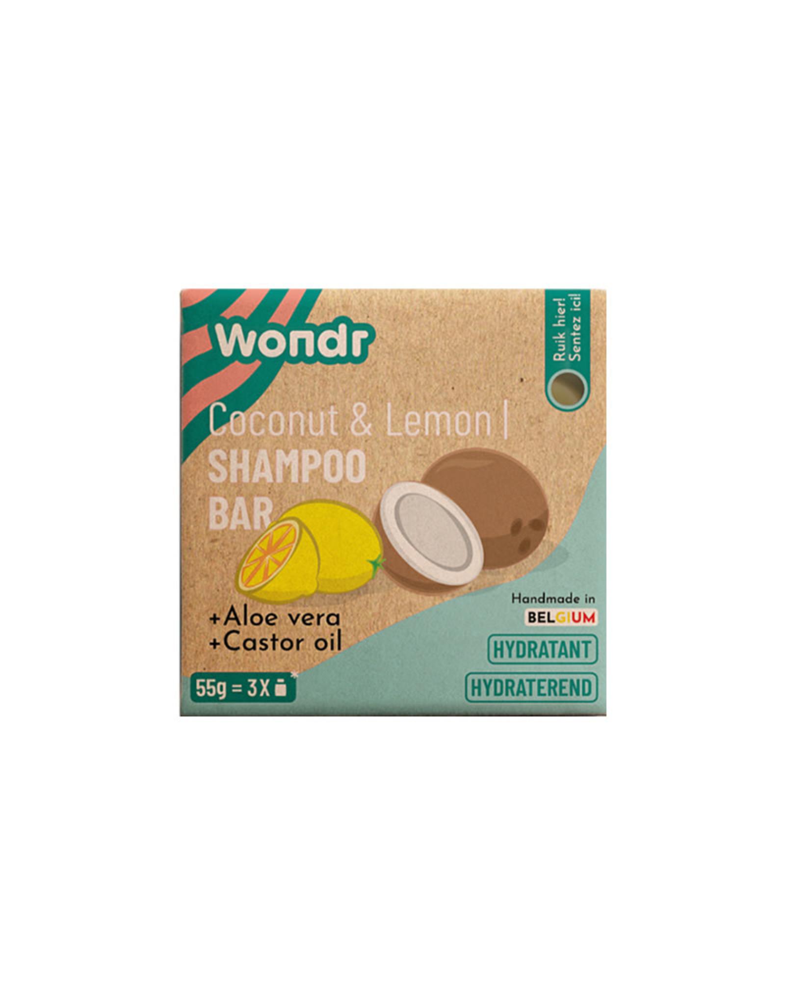 WONDR WONDR Shampoo Bar Coconut & Lemon