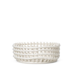 FERM LIVING FERM LIVING Ceramic Centrepiece - Off-White