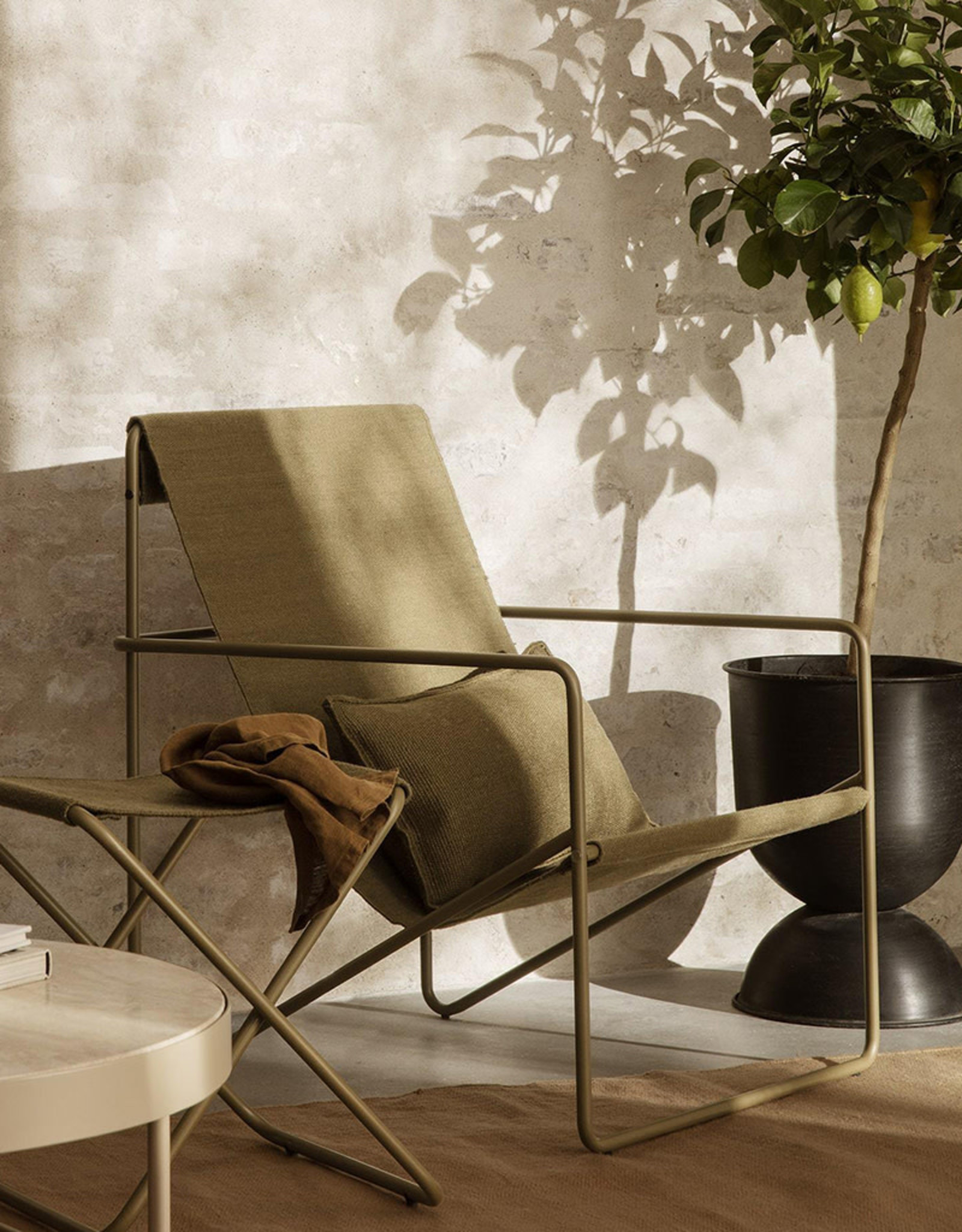 FERM LIVING FERM LIVING Desert Cushion - Olive
