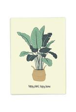KAART BLANCHE KAART BLANCHE Happy Plant