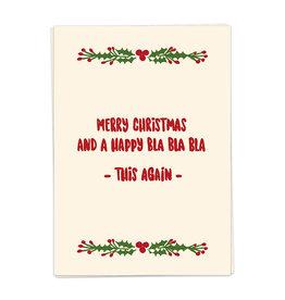 KAART BLANCHE KAART BLANCHE Christmas Bla Bla