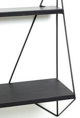 SERAX SERAX PJ MARES BUTTERFLY SHELVES BLACK