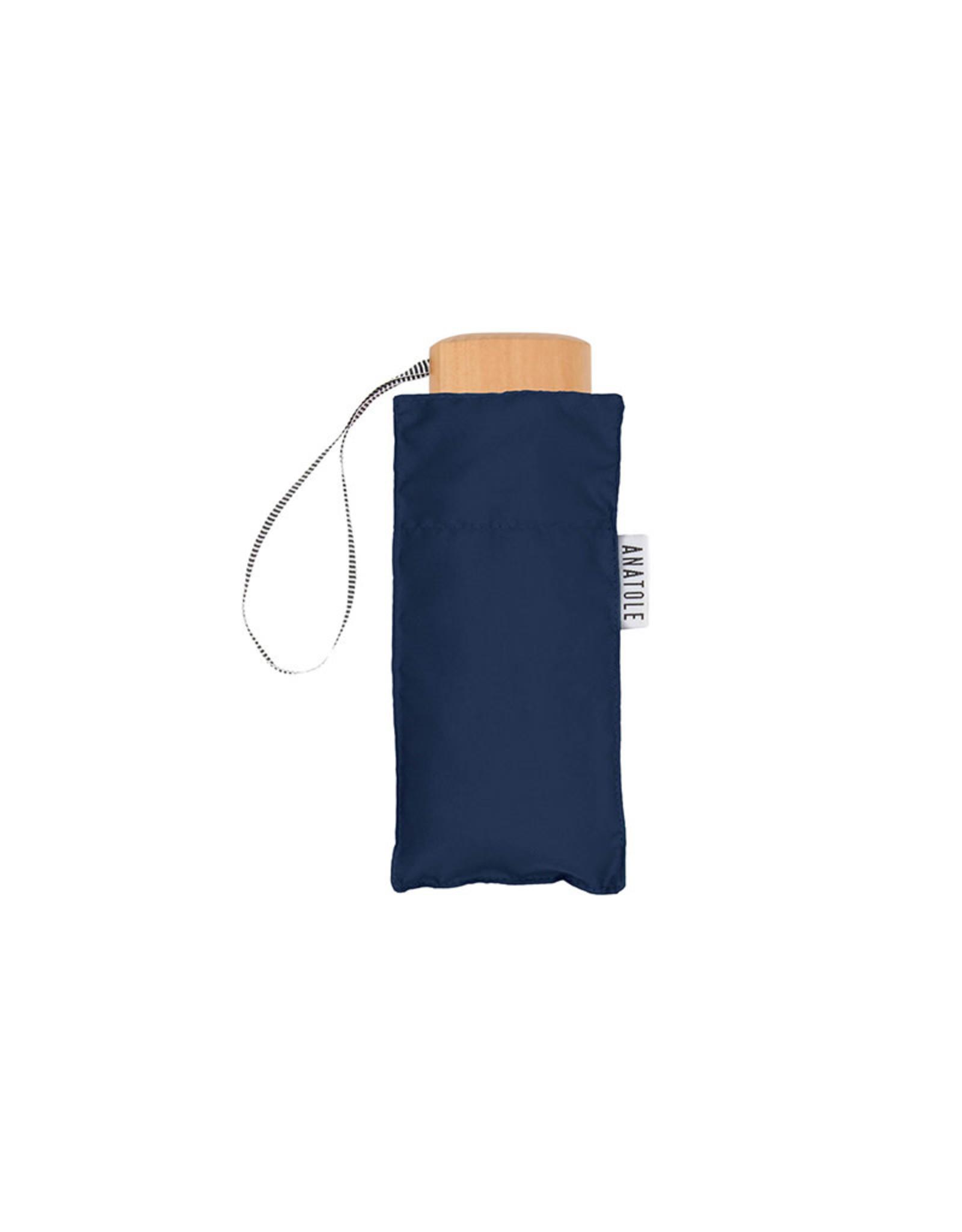 ANATOLE ANATOLE Folding Umbrella - Colette - Navy Blue
