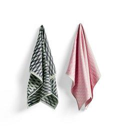 HAY HAY S&B Tea Towel - Marker Diamond No 4 - Set of 2