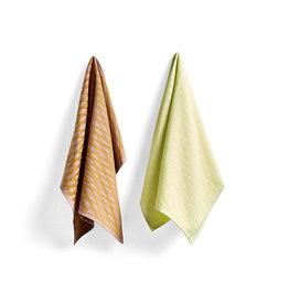 HAY HAY S&B Tea Towel - Marker Diamond No 1 - Set of 2