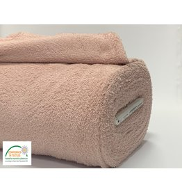 Frottee Baumwolle Old pink