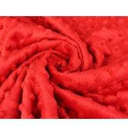 Minky Fleece - Red