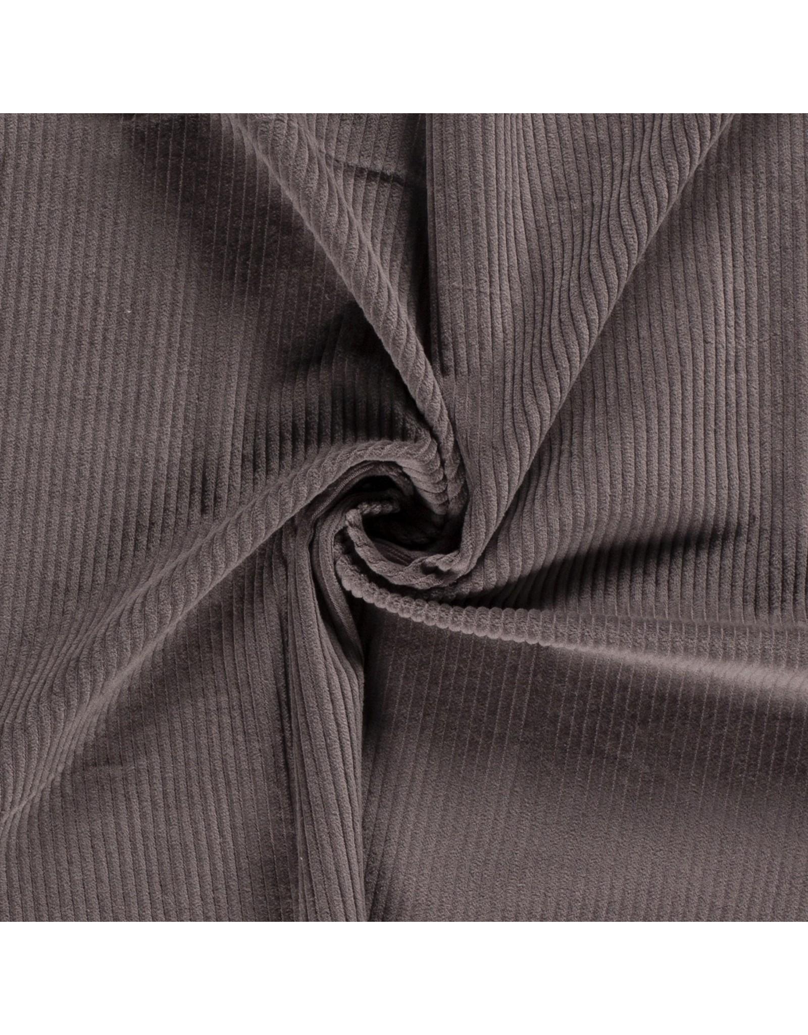 Cotton Corduroy - DK Grey