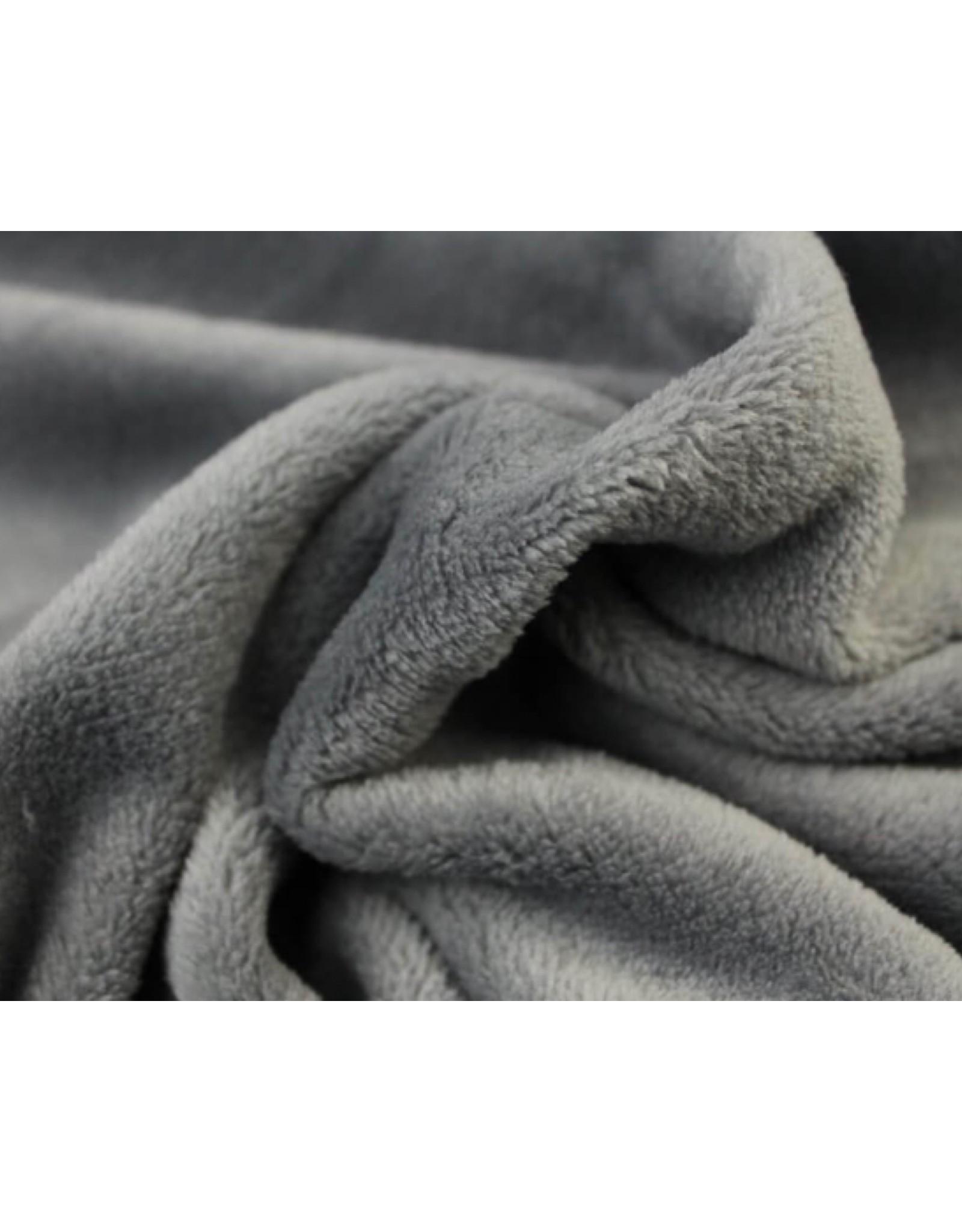Wellness Fleece Zilver