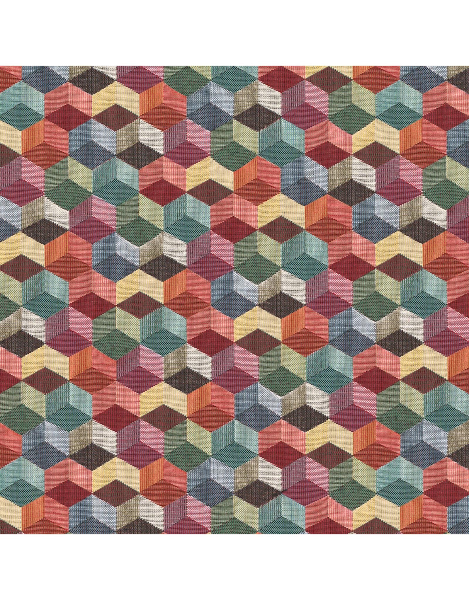 B&B Fabrics Gobelin Premium - 3D Blocks
