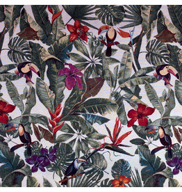 B&B Fabrics Gobelin Premium  - Botanic birds
