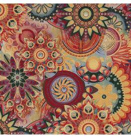 B&B Fabrics Gobelin Premium  - Mandala Multicolor