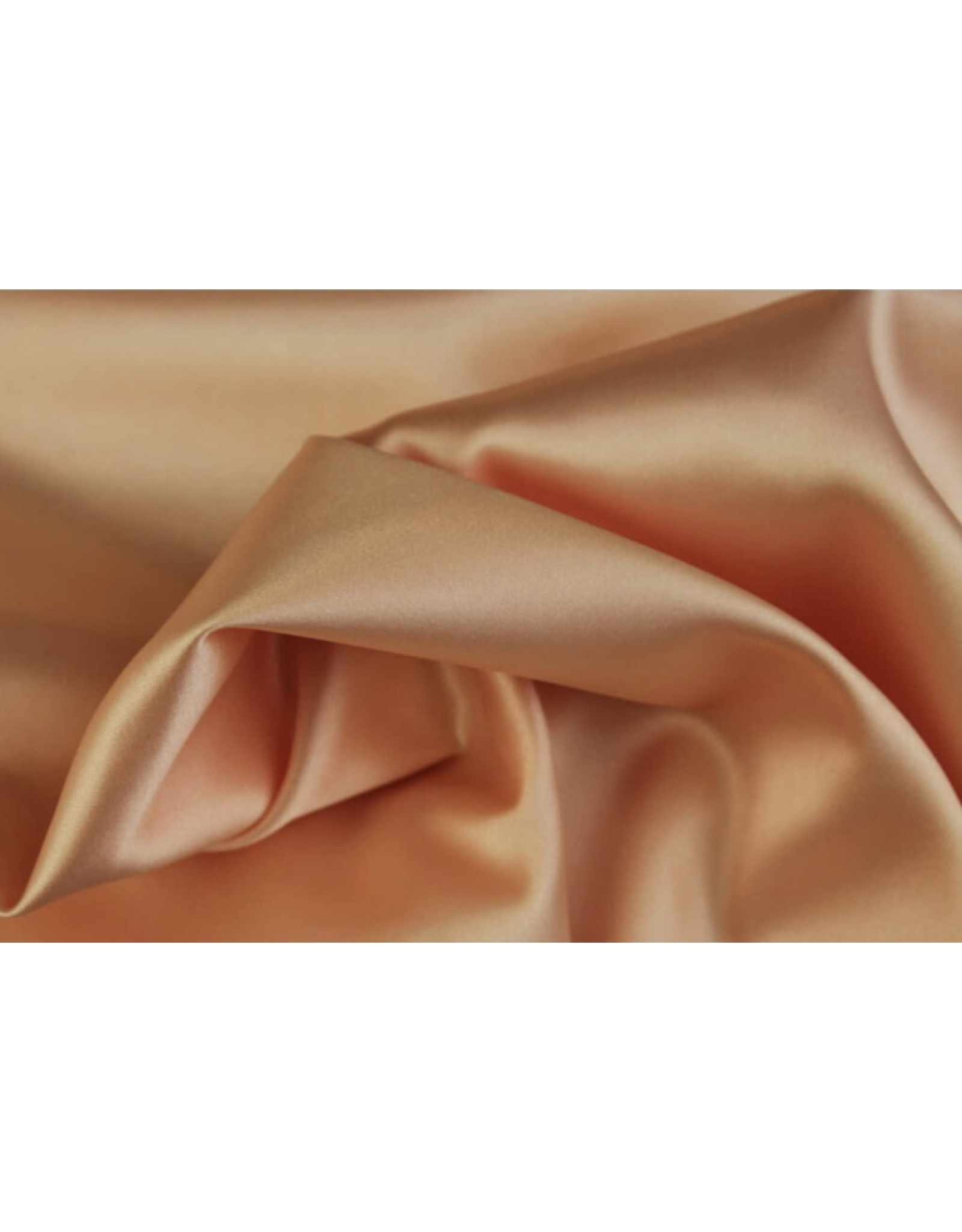 Silk Satin stretch - Lachs