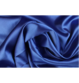 Silk Satin stretch - Kobalt