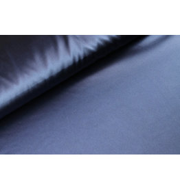 Silk Satin stretch - Marine