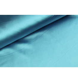 Silk Satin stretch - Aqua