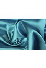 Silk Satin stretch - Aqua