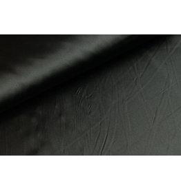 Silk Satijn stretch - Zwart
