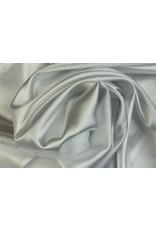 Silk Satin stretch - White