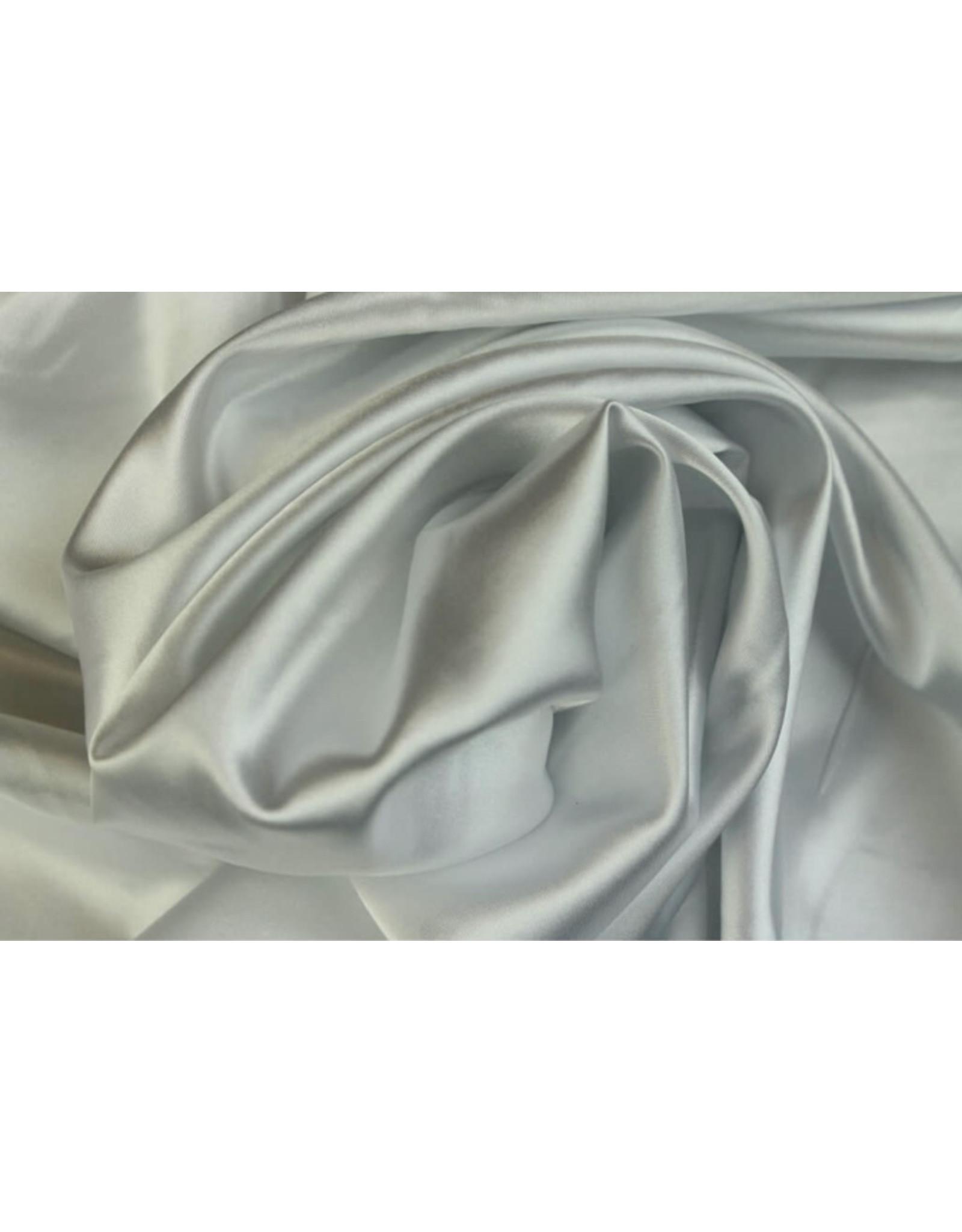 Silk Satin stretch - Weiß
