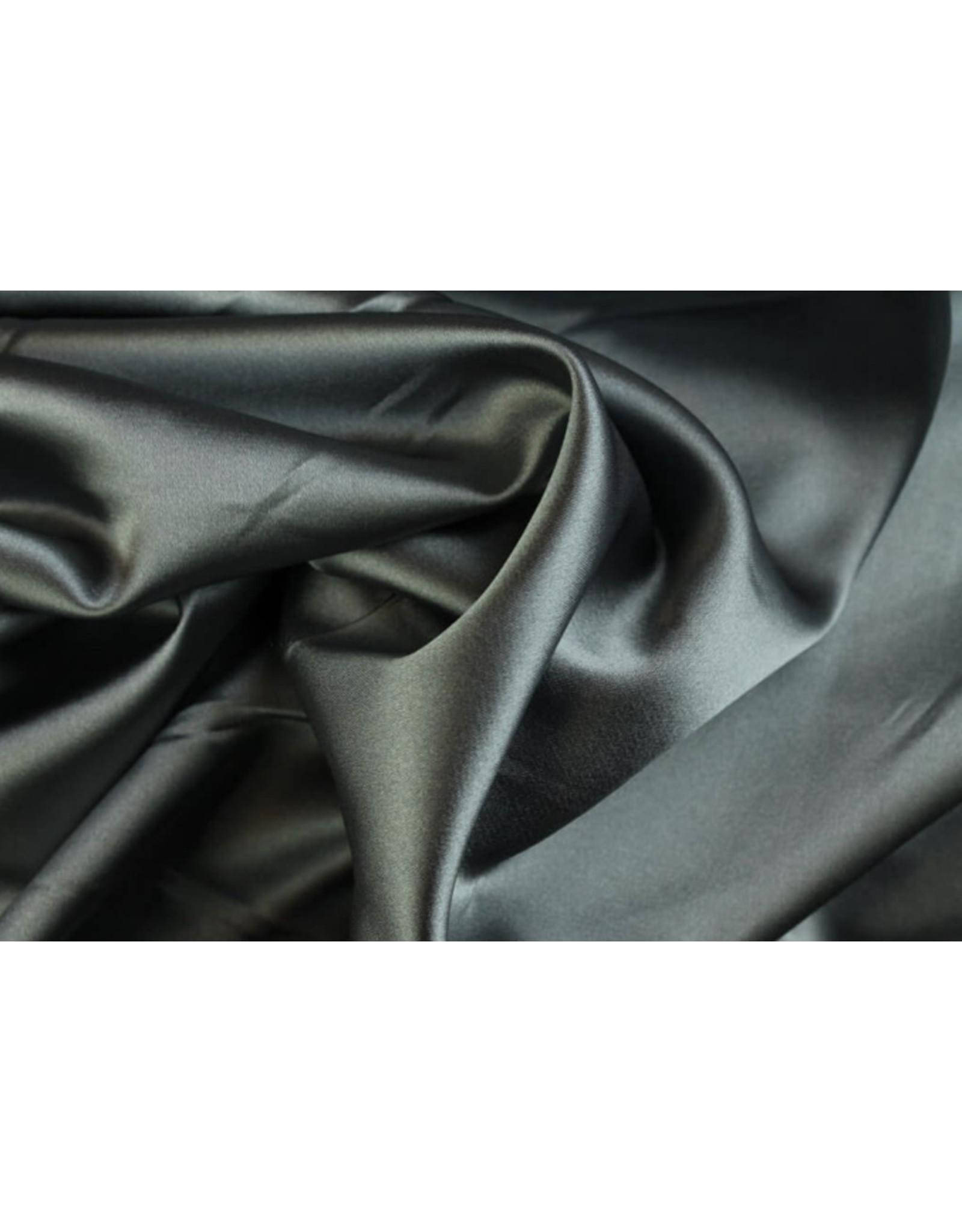 Silk Satijn stretch - Zilver
