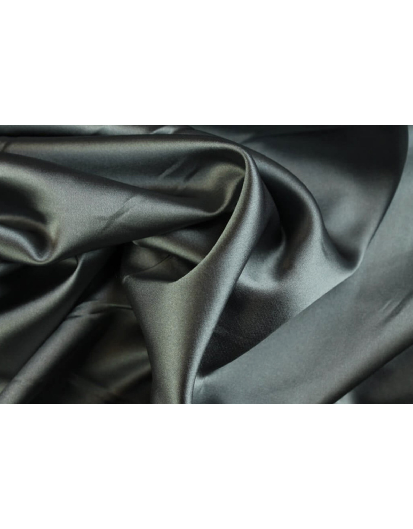 Silk Satin stretch - Silber