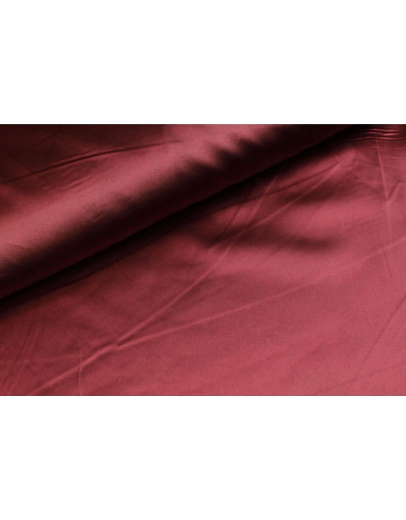 Silk Satin stretch - Bordo