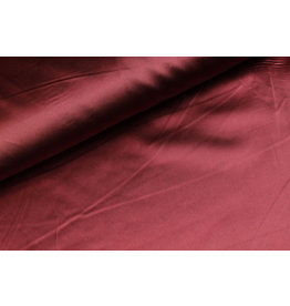 Silk Satin stretch - Bordo