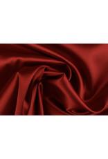 Silk Satijn stretch  - Rood