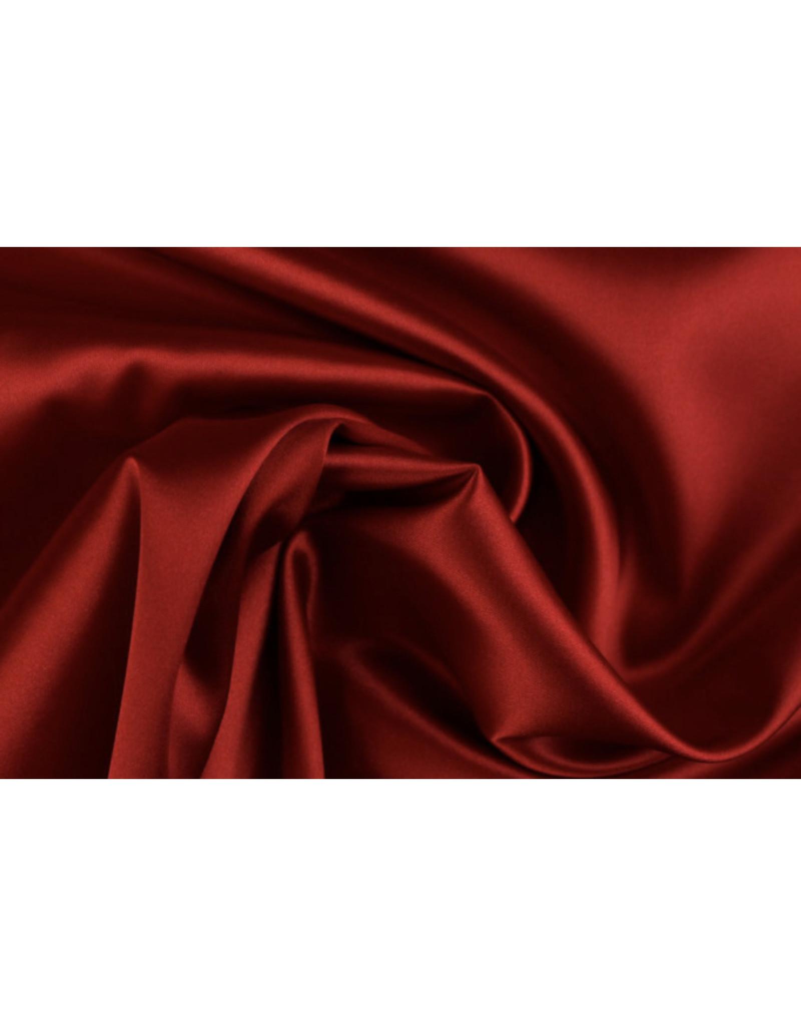 Silk Satin stretch - Rot