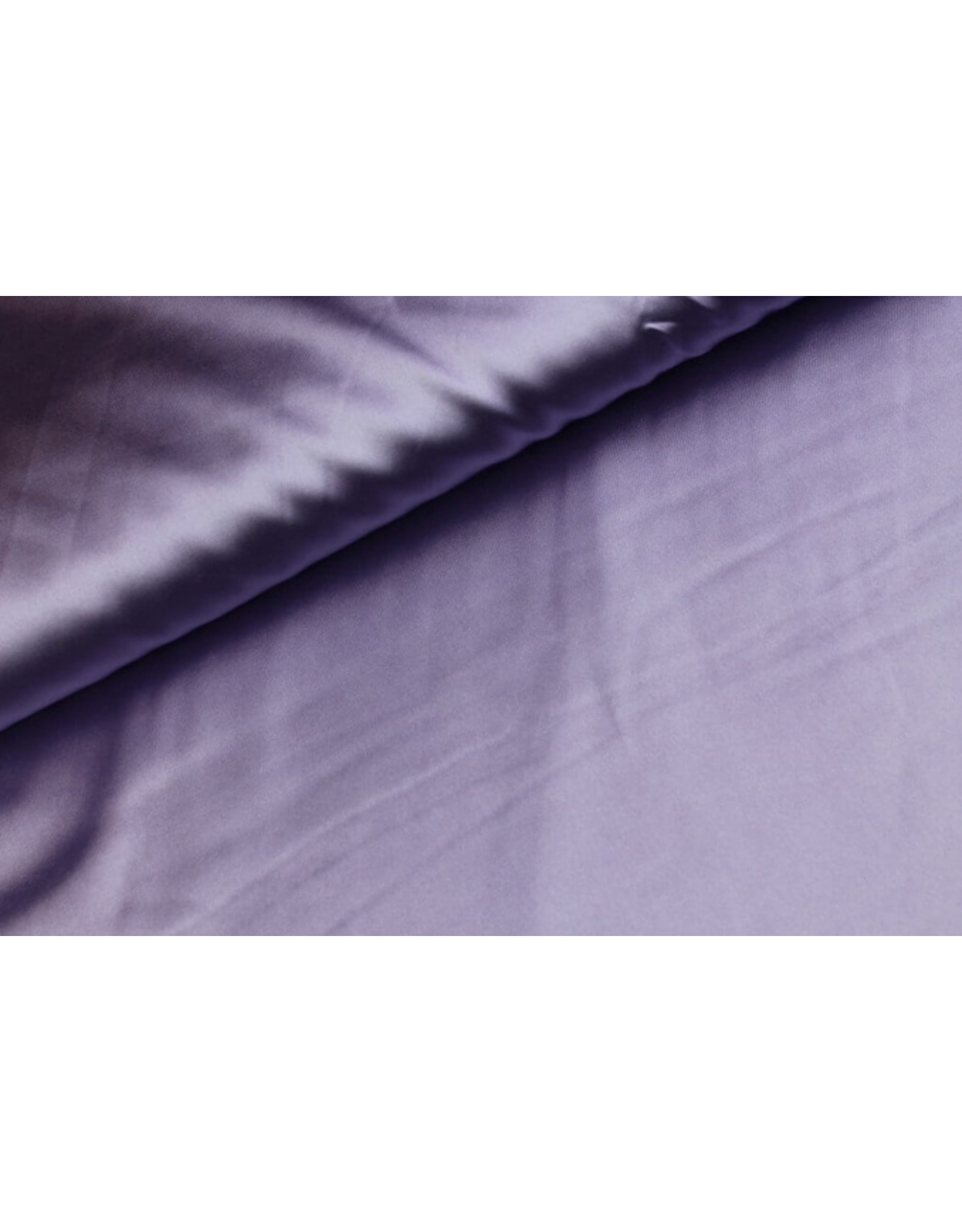 Silk Satijn stretch - Lila