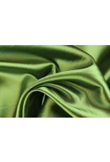 Silk Satin stretch - Moss green