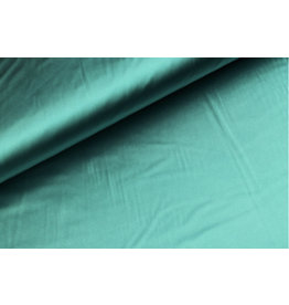 Silk Satin stretch  - Turquoise