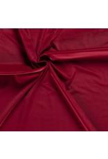 Nobodeco Home Fluweel stof Uni Rood