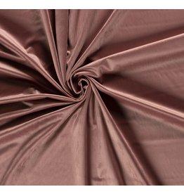 Nobodeco Home Velvet fabric Unicolour Old Pink