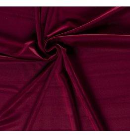 Nobodeco Home Velvet fabric Unicolour Bordo