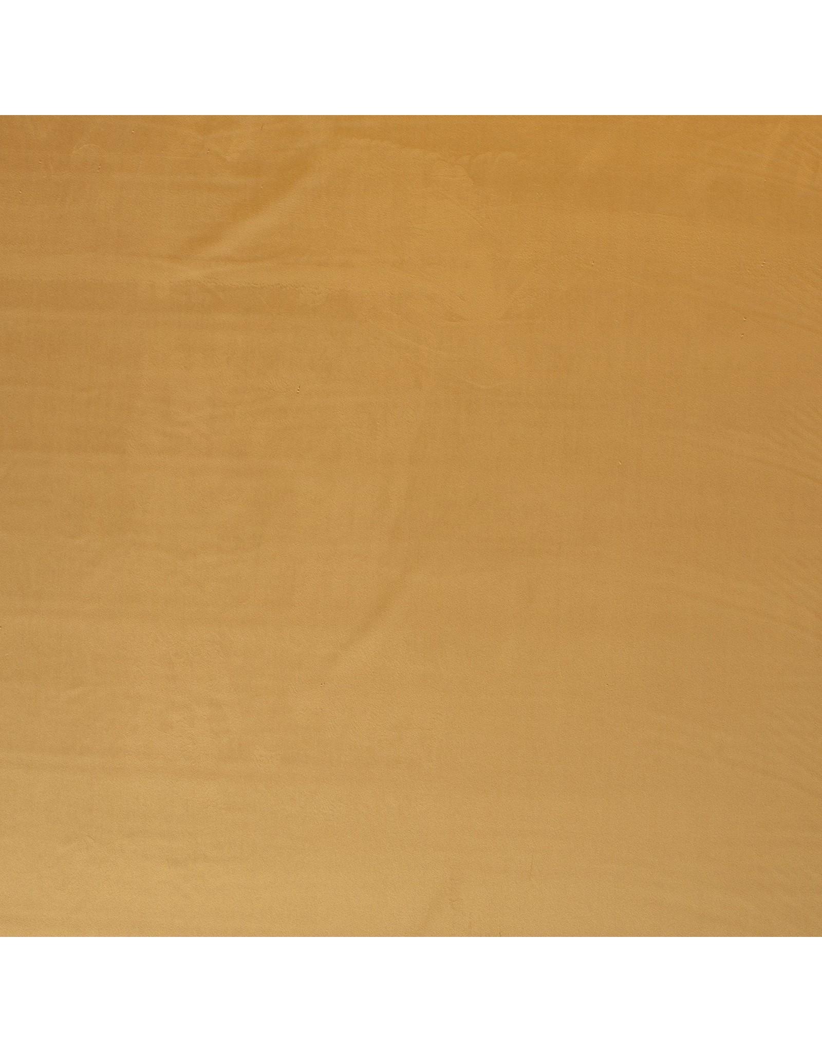 Nobodeco Home Fluweel stof Uni Geel