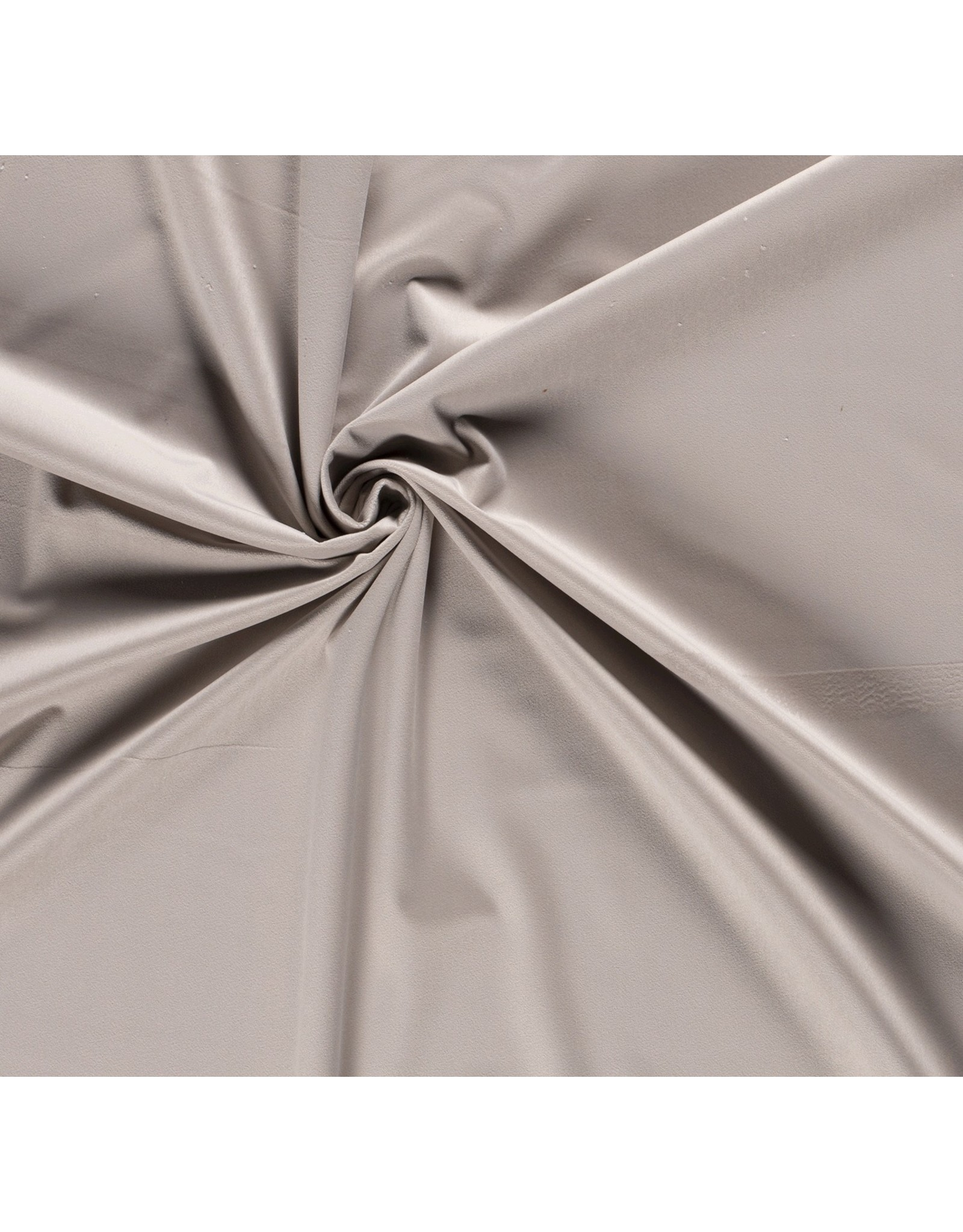 Nobodeco Home Velvet fabric Unicolour Beige