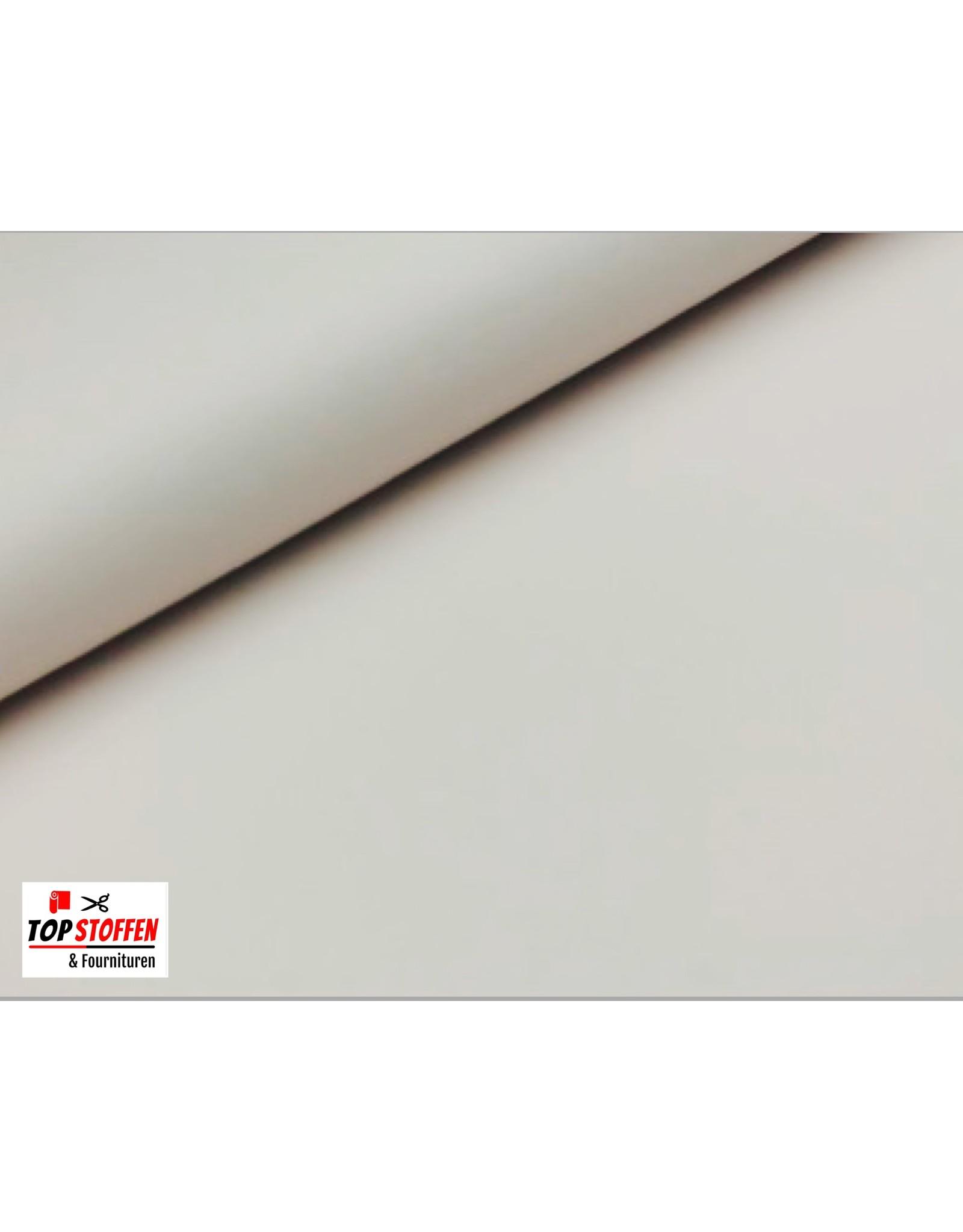 Imitation Leather / Skai - White