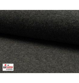 100% Boiled Wool - Grey Melange