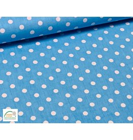 Qjutie Collection Qjutie Kids poplin big dots - Aqua
