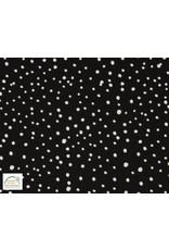 Qjutie Collection Qjutie Kids poplin dots - Zwart