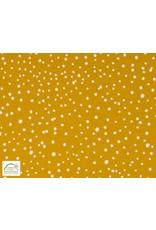 Qjutie Collection Qjutie Kids poplin dots - Okergeel