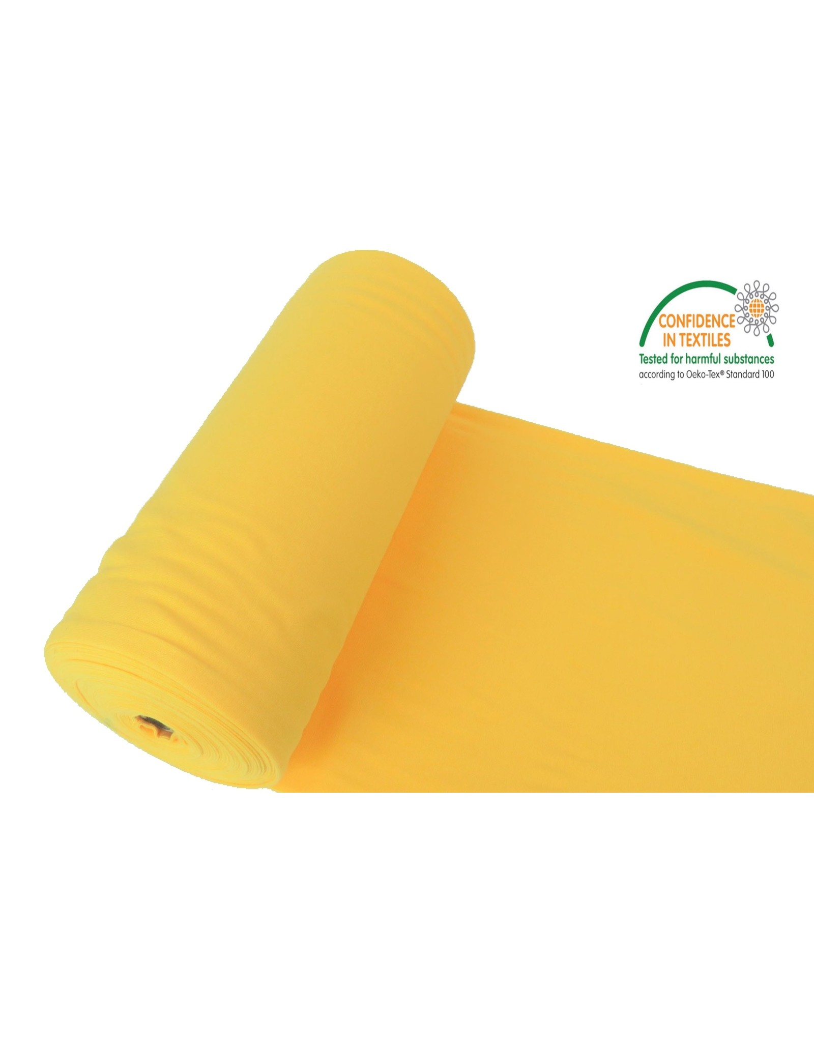 Manchettenstoff Gelb