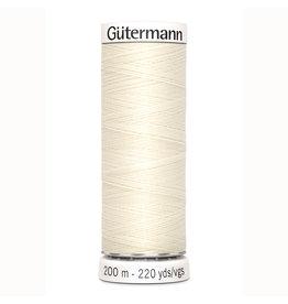 Gütermann Gütermann Nähgarn 200 m - nr 1