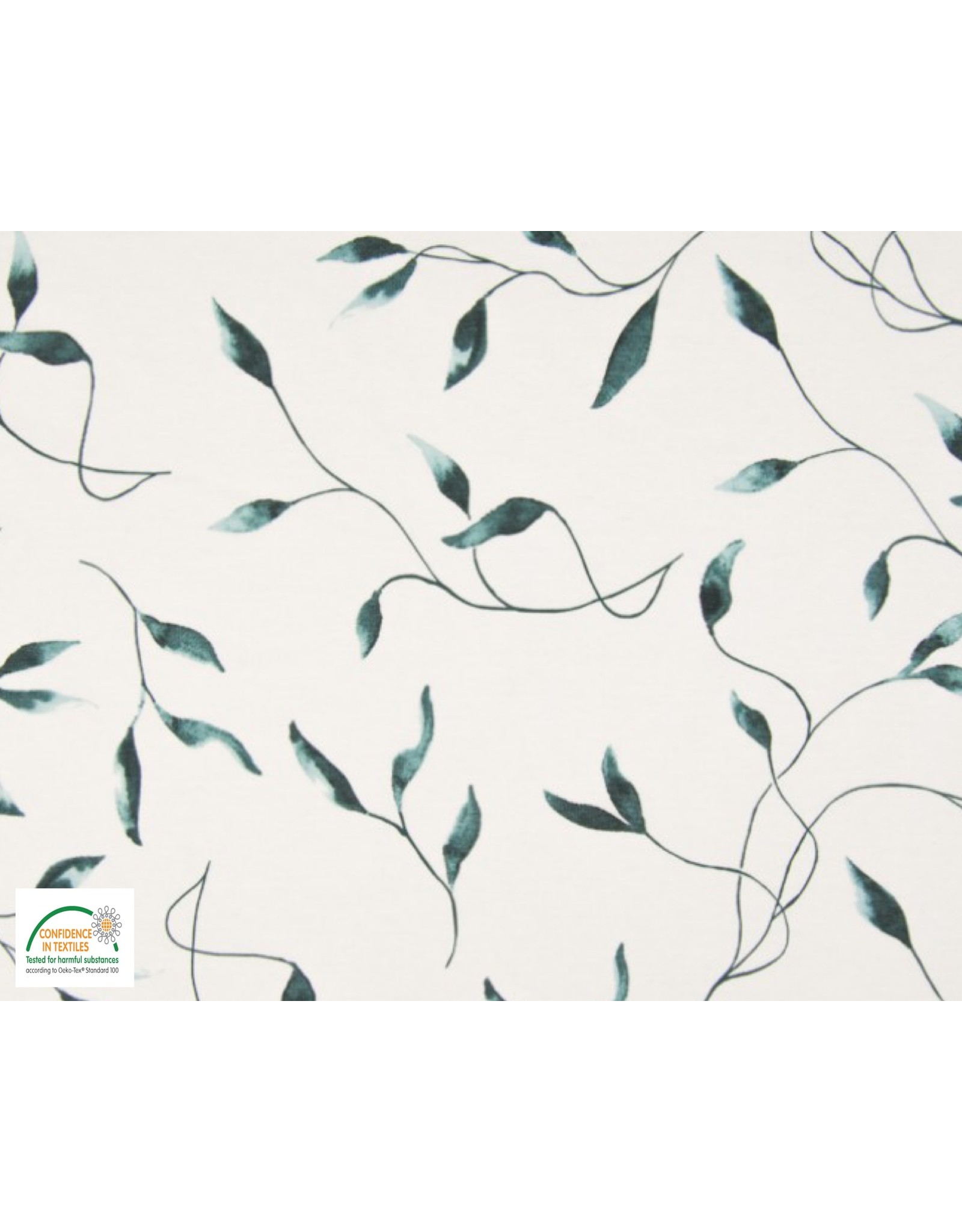 Qjutie Collection Qjutie tricot leaves dusty green