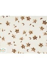 Qjutie Collection Qjutie tricot flowers camel