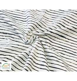 Qjutie Collection Qjutie tricot stripes wit